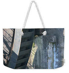 Weekender Tote Bag featuring the photograph Water Mill by Melinda Blackman