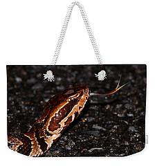 Water Moccasin Weekender Tote Bag