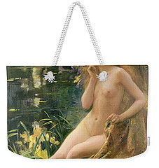 Water Nymph Weekender Tote Bag by Gaston Bussiere