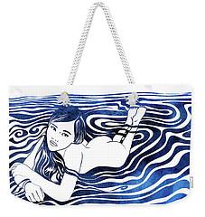 Water Nymph V Weekender Tote Bag