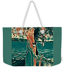 Water Nymph Weekender Tote Bag