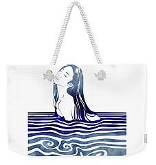 Water Nymph Viii Weekender Tote Bag