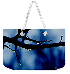 Water On Branch Weekender Tote Bag