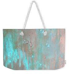Water On Copper Weekender Tote Bag