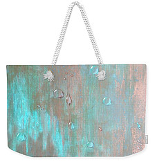 Water On Copper Weekender Tote Bag