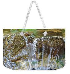 Water On The Rocks Weekender Tote Bag