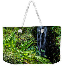Water Over The Rocks Weekender Tote Bag by Ken Frischkorn