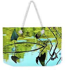 Water Plants Weekender Tote Bag by Debbie Oppermann