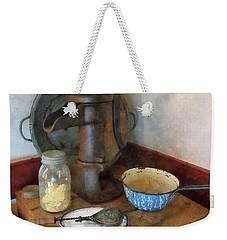 Water Pump In Kitchen Weekender Tote Bag