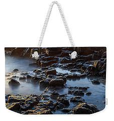 Water, Rocks And Sunlight Weekender Tote Bag