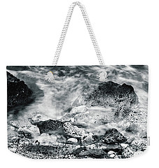Water Rocks Weekender Tote Bag