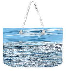Water Scribbles Weekender Tote Bag