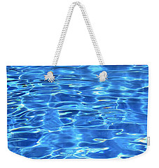 Weekender Tote Bag featuring the photograph Water Shadows by Ramona Matei