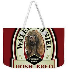 Water Spaniel Irish Bred Premium Lager Weekender Tote Bag