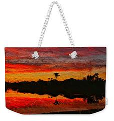 Winter Sunrise I Weekender Tote Bag