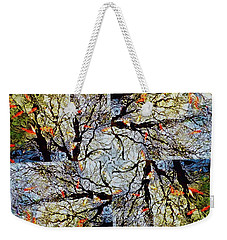 Water Surface Matrix Weekender Tote Bag