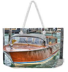 Water Taxi Italy Weekender Tote Bag