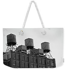 Water Towers Weekender Tote Bag by Jose Rojas