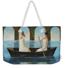 Water Under The Bridge Weekender Tote Bag by Glenn Quist