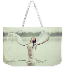 Water Wings Weekender Tote Bag