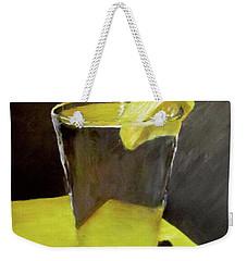 Water With A Lemon...please Weekender Tote Bag
