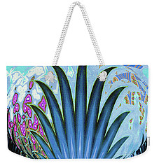 Water World Botanical Weekender Tote Bag by Ann Johndro-Collins
