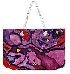 Watercolor Abstraction Weekender Tote Bag