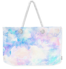 Watercolor Background Weekender Tote Bag