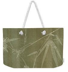 Watercolor Bamboo 01 Weekender Tote Bag