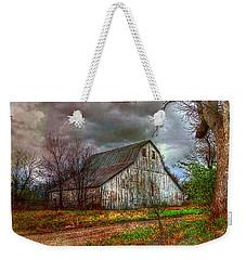 Watercolor Barn 2 Weekender Tote Bag