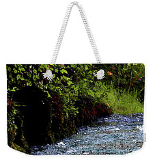 Watercolor Big Springs Missouri 2125 W_2 Weekender Tote Bag