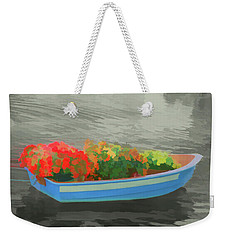 Weekender Tote Bag featuring the photograph Watercolor Boat Parade by Aimee L Maher Photography and Art Visit ALMGallerydotcom