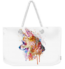Watercolor Chihuahua  Weekender Tote Bag