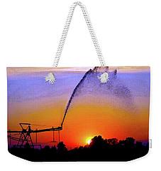 Watercolor Irrigation Sunset 3243 W_2 Weekender Tote Bag