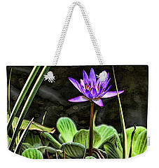 Watercolor Lily Weekender Tote Bag