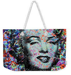Watercolor Marilyn Weekender Tote Bag