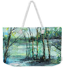 Watercolor Morning Weekender Tote Bag