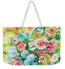 Watercolor Series 120 Weekender Tote Bag
