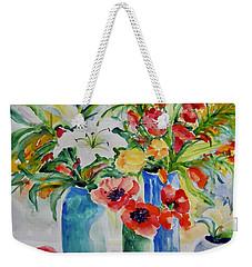 Watercolor Series No. 256 Weekender Tote Bag