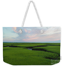 Watercolor Sunset Weekender Tote Bag