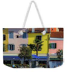 Watercolors In Split Weekender Tote Bag
