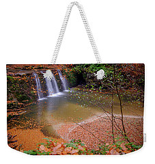 Waterfall-1 Weekender Tote Bag