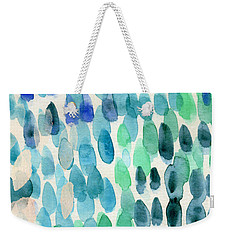 Waterfall 2- Abstract Art By Linda Woods Weekender Tote Bag