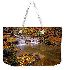 Waterfall-6 Weekender Tote Bag