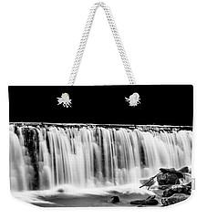 Waterfall At Night Weekender Tote Bag
