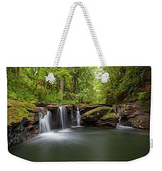 Waterfall At Rock Creek Oregon Weekender Tote Bag