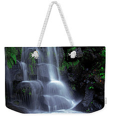Waterfall Weekender Tote Bag by Carlos Caetano
