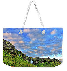 Weekender Tote Bag featuring the photograph Waterfall Hill by Scott Mahon