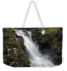 Waterfall In Isle Of Skye Weekender Tote Bag