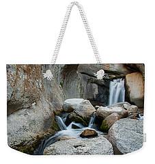 Waterfall In The Buttermilks Weekender Tote Bag